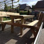 Steigerhout pic-nic tafel